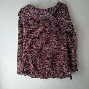 Knox Rose cowl neck knit sweater sz XXL